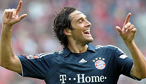 Champions League, Bayern, Toni