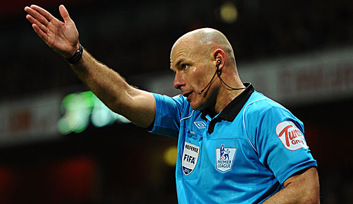Howard Webb leitete unter anderem das Champions-League-Finale 2010 in Madrid