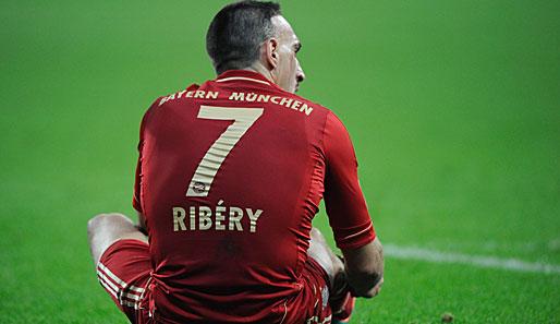 Ribery Zähne