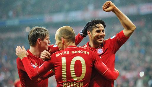 Hinspiel Bayern Juventus