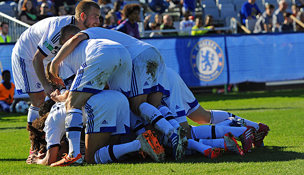 Der FC Schalke 04 eleminierte in der Youth League den FC Chelsea