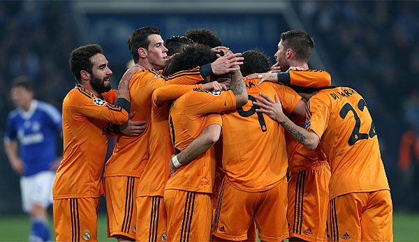 Schalke Real Hinspiel