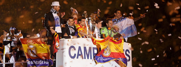 Real Madrid, Champions League, Siegesfeier