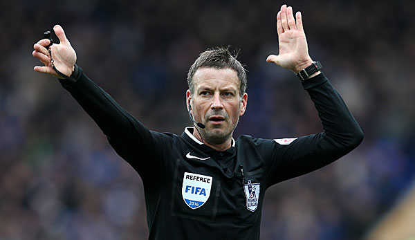 Mark Clattenburg pfeift in der Premier League