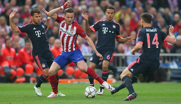 Bayern Atletico Hinspiel