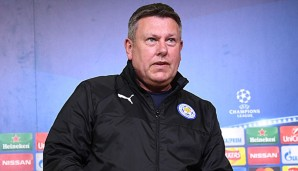 Craig Shakespeare glaubt an Leicesters Chance
