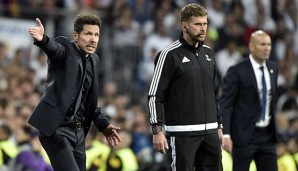 Diego Simeone glaubt fest an Atleticos Chancen