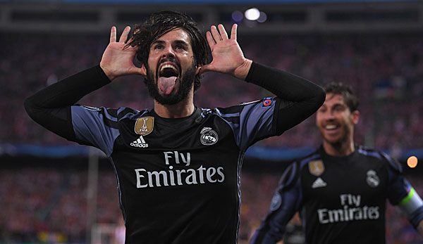 Der Moment, in dem Isco Real Madrid ins Champions-League-Finale beförderte