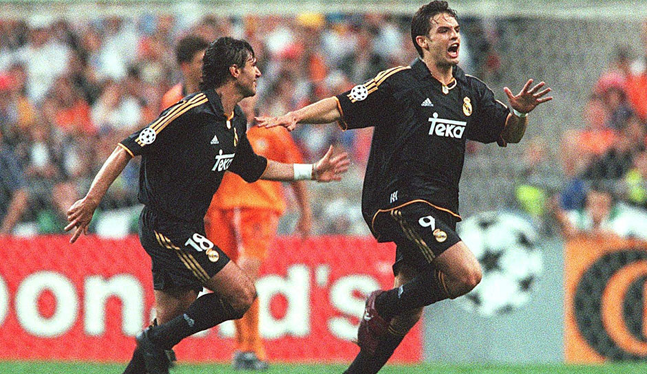 2000: Real Madrid - FC Valencia 3:0 in Paris