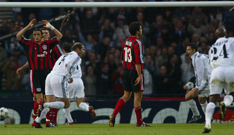 2001: Real Madrid - Bayer Leverkusen 2:1 in Glasgow