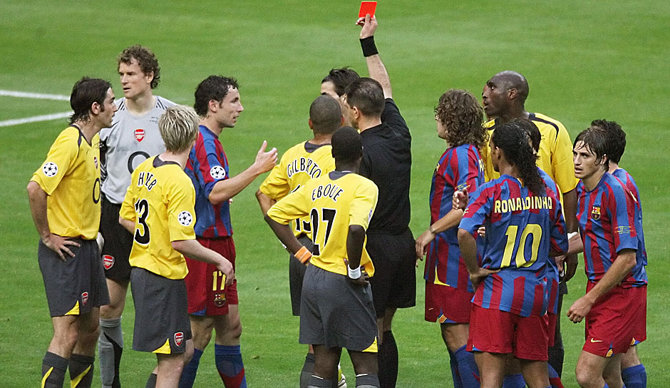 2006: FC Barcelona - FC Arsenal 2:1 in Paris