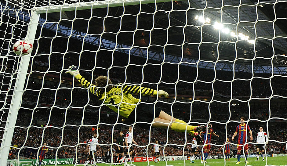 2011: FC Barcelona - Manchester United 3:1 in Wembley