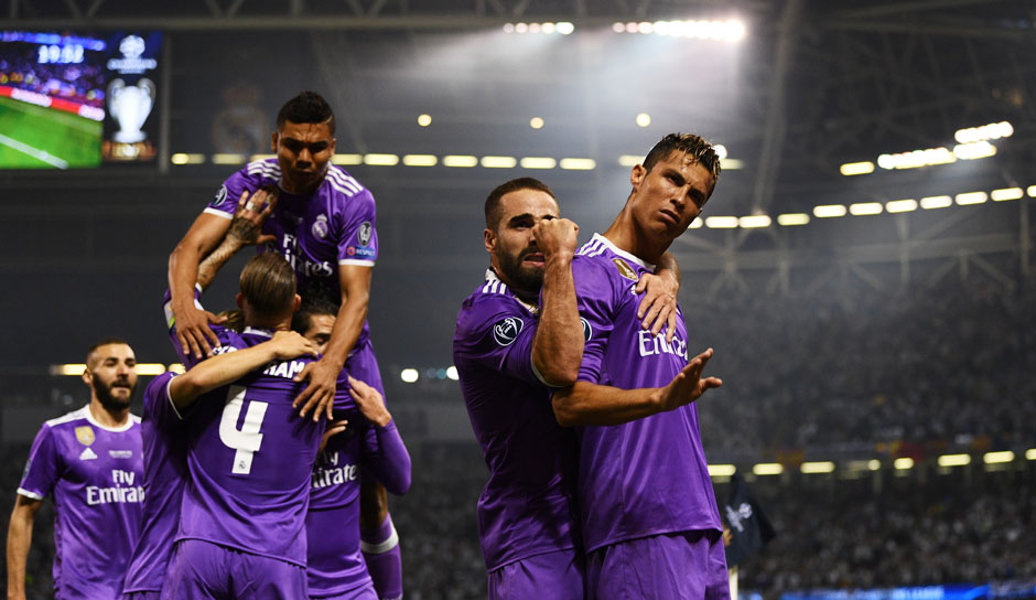 2017: Real Madrid - Juventus 4:1 in Cardiff