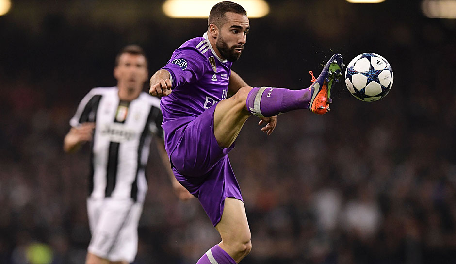 Daniel Carvajal - Real Madrid - Champions-League-Sieger 2017