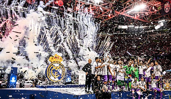 Real Madrid geht als Titelverteidiger in die Champions League 2017/18