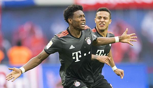 David Alaba zurück im Bayern-Training