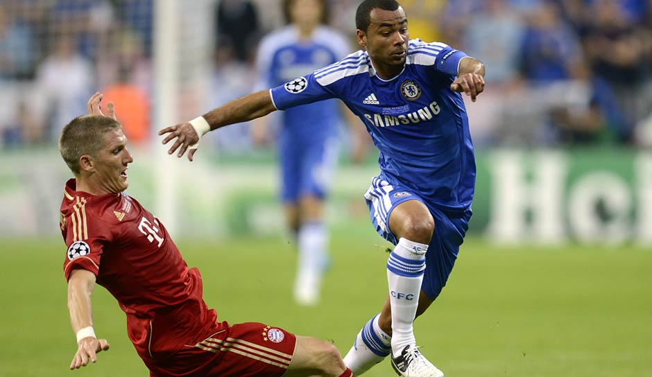 108 Einsätze: Ashley Cole (FC Arsenal, FC Chelsea, AS Roma)