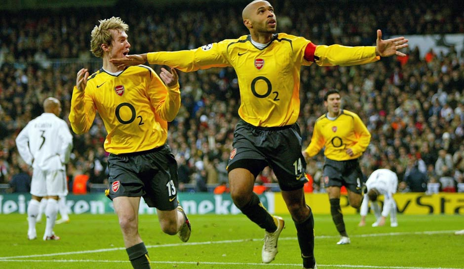 112 Einsätze: Thierry Henry (AS Monaco, FC Arsenal, FC Barcelona)
