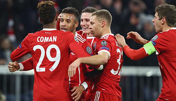 ergebnis champions league bayern münchen