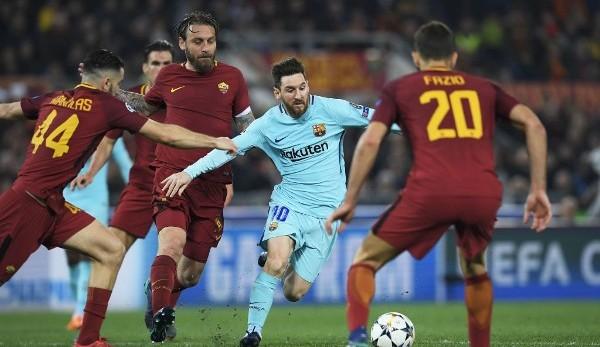 FC Barcelona scheitert im Viertelfinale am AS Rom  90 Minuten Schockstarre bdb8d8739cf