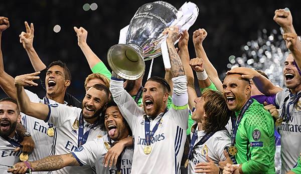 Erster Champions League Sieger