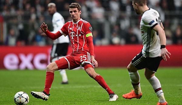Der FC Bayern setzte sich in der CL-Saison 2017/18 gegen Besiktas durch