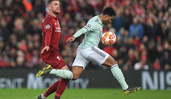 Champions League - Stimmen und Reaktionen: Habe Gnabry noch nie so gut verteidigen sehen