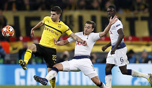 Tottenham Gegen Bvb: Champions League: BVB Vs. Tottenham Hotspur Live Im TV