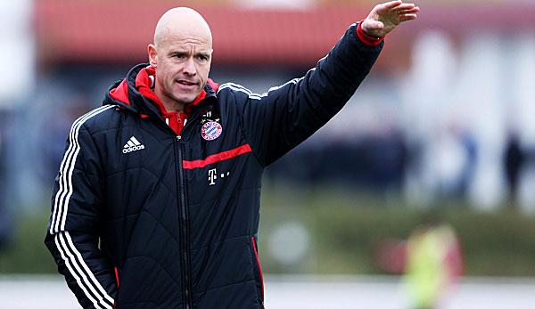 Ajax Amsterdams Trainer Erik Ten Hag Architekt Hinter Dem Fussballwunder