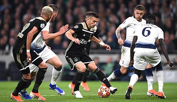Ajax Tottenham übertragung