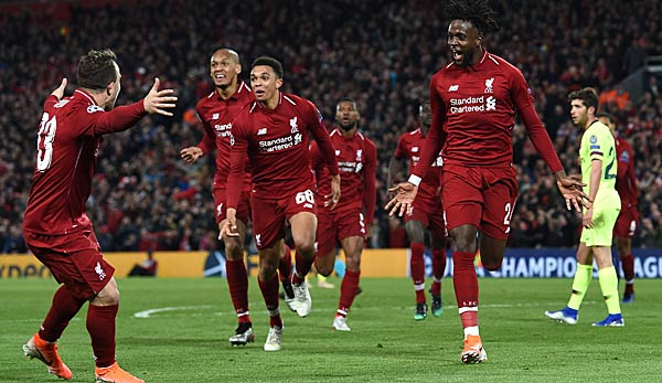 Liverpool barcelona highlights
