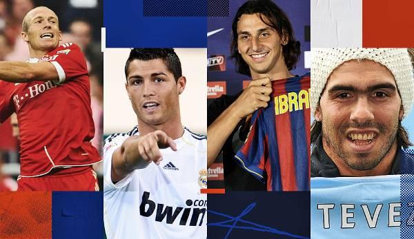 Diashow: Cristiano, Ibra und Co.: So krass war der Transfersommer 2009