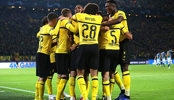 Bvb Champions League Gruppe