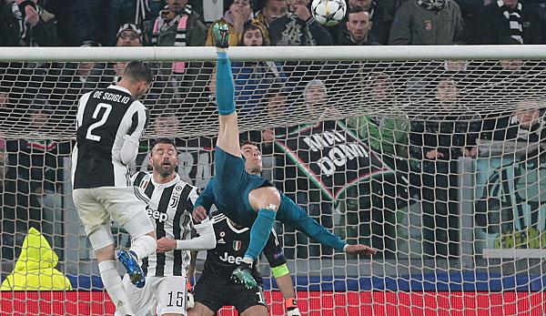 Cristiano Ronaldo verrät: Fallrückzieher gegen Juventus war mein schönstes Tor