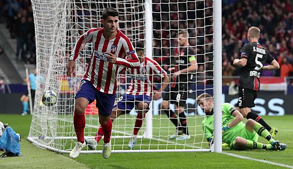 Atletico Madrid - Bayer Leverkusen 1:0: Werkself kann Achtelfinale praktisch abhaken