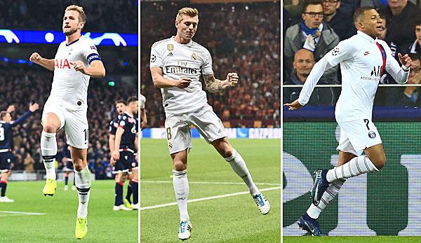Champions League, 3. Spieltag: Real Madrid gelingt Befreiungsschlag - PSG, ManCity und Tottenham in Torlaune
