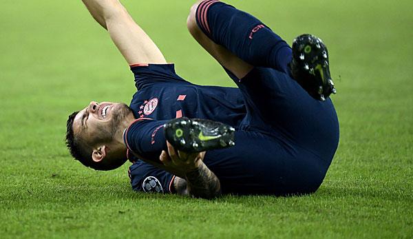 FC Bayern: Lucas Hernandez fällt wochenlang aus - Javi Martinez angeschlagen