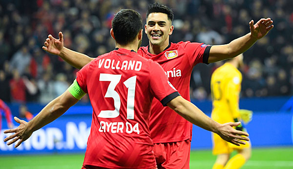 Erster Sieg für Leverkusen in der Champion League