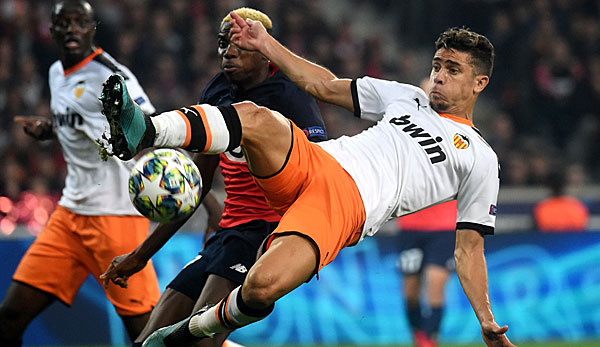 Champions League: FC Valencia gegen OSC Lille heute live im TV, Livestream und Liveticker