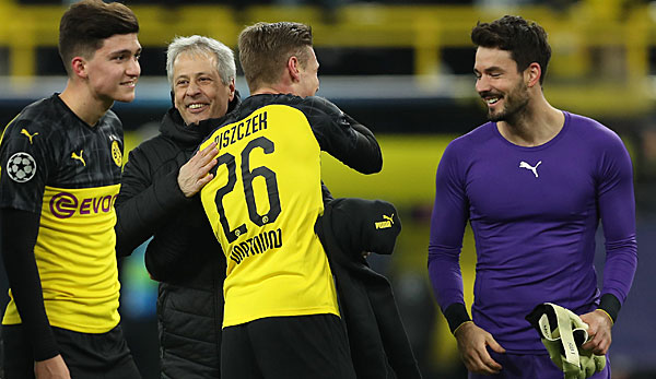 BVB qualified for round 16 of the Champions League on the final day of the match.