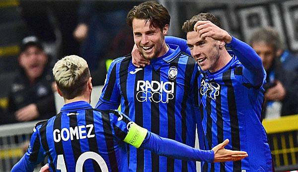 Atalanta Bergamo - FC Valencia 4:1: Robin Gosens und Co. mit einem Bein im Viertelfinale
