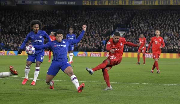 Le Bayern a remporté les huitièmes de finale aller contre Chelsea 3-0.