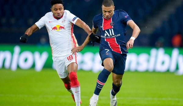 Le RB Leipzig et le PSG se battent pour avancer.