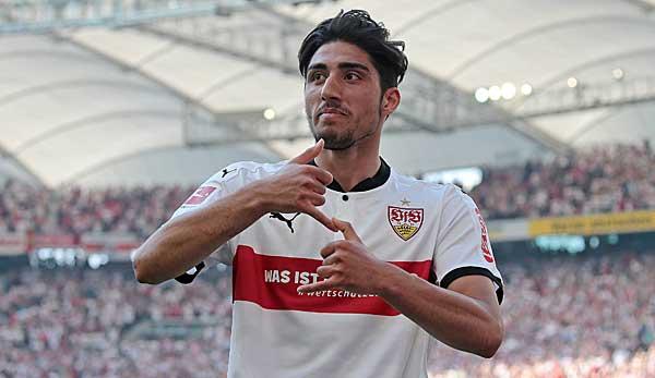 Joue au VfB Stuttgart depuis l'âge de 17 ans: Berkay Özcan.