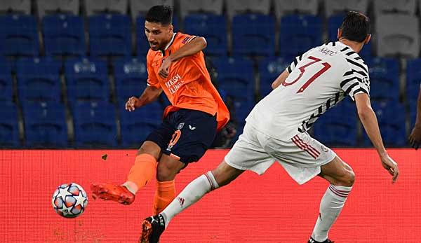 Fait un match fort pour Basaksehir contre Manchester United: Berkay Özcan.