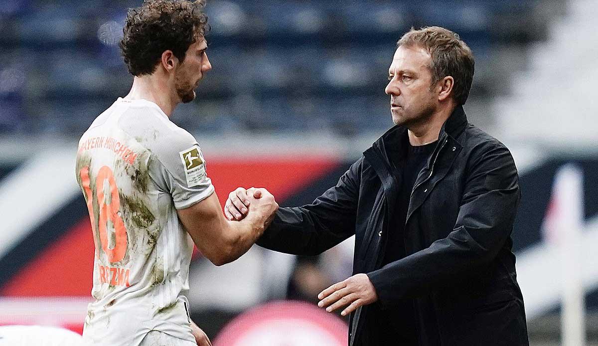 FC Bayern München: Leon Goretzka nährt gegen Lazio Rom Flicks Hoffnung auf Konstanz - SPOX