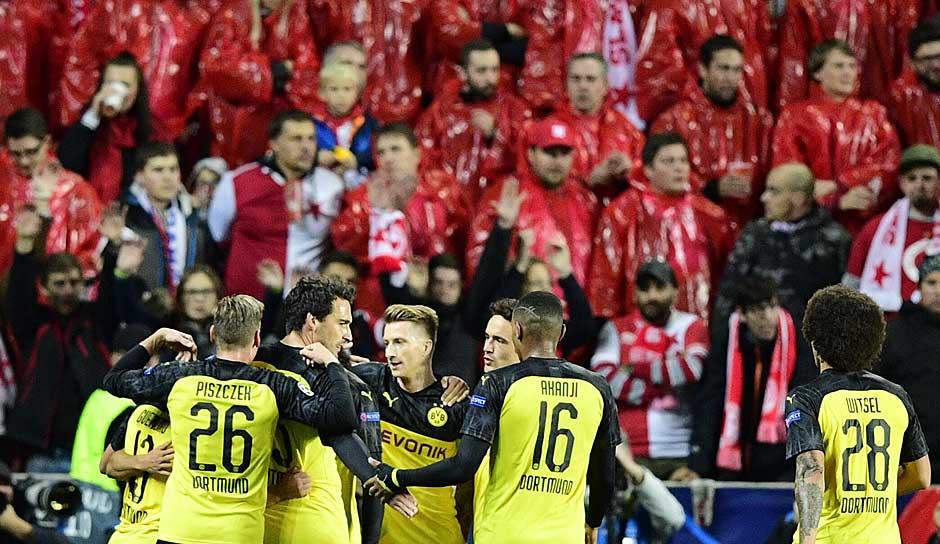 Bvb Gegen Slavia Prag