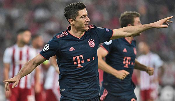 Olympiakos Piräus - FC Bayern München 2:3: Lewy-Doppelpack und neue Verletzungssorgen! FCB dreht Spiel in Piräus