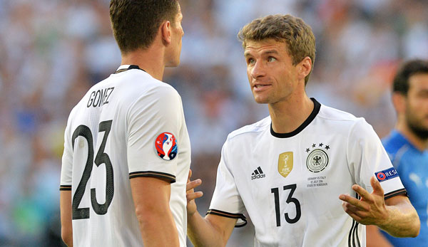 Thomas Müller will mehr Optionen in der Offensive