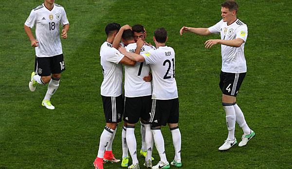 Fußball Deutschland Mexiko